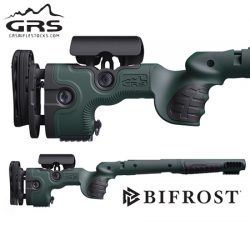 GRS Bifrost Rifle Stock – Tikka T3/T3x Green, Left Hand.