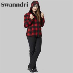 Swanndri Women's Seattle Wool Hoody.