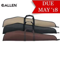 Allen Durango Scoped Rifle Case – Black, Brown & Tan 46″.