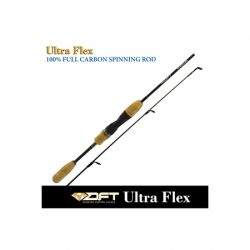 DFT Sureflex 1.2mm Tip Cork 1-3 Kg 5ft 3 Solid Graphite Spinning Rod.