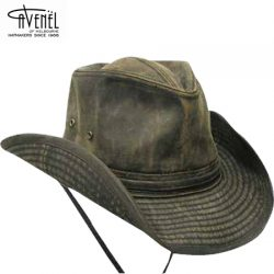 Avenel Outback Styled Weathered Cotton Hat.