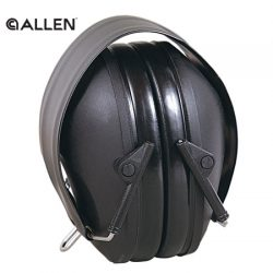 Allen Low Profile 26NRR Black Ear Muffs.