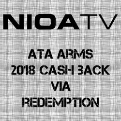ATA Arms – 2018 Cash Back.
