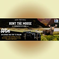 Sako Presents 'Hunt The Moose' Competition.