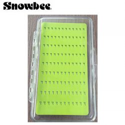 Silicone Triangular Slit Foam Fly Box.