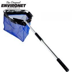 Environet Full Mesh Large Blue Net FML1000 – Handle 1000mm.