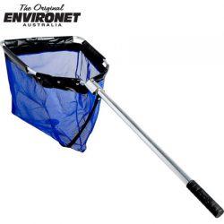 Environet Full Mesh Extra Large Blue Net FML1000 – Handle 1000mm.