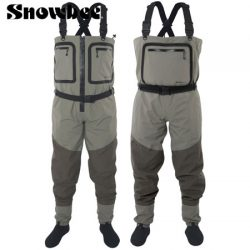 Snowbee SFT Breathable Zip Front Chest Waders.