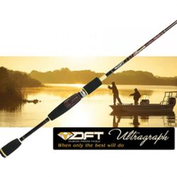 DFT Ultragraph 6′ 6″ 1-3kg 1 Piece Spinning Rod.