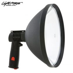 Lightforce Blitz 240mm Halogen 100W With Aligator Clip.
