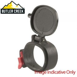 Butler Creek Flip-Open Rifle Scope Oblong Cover 15 Eye 1.66″x1.45″.
