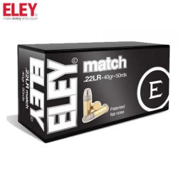 ELEY 22LR Match Ammunition.