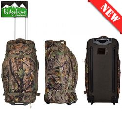 Ridgeline Grunt Wheelie Gear Bag – Nature Green Camo.
