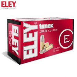 ELEY 22LR Tenex Ammunition.