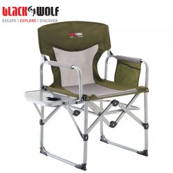Black Wolf Compact Directors Chair.