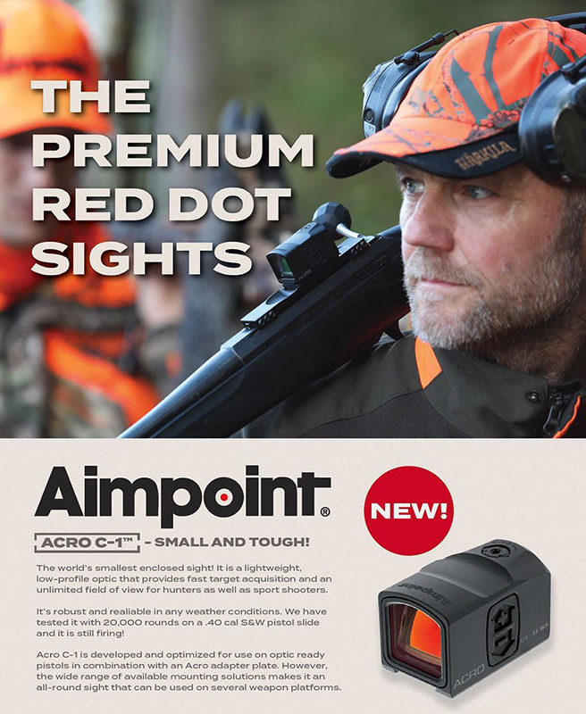Aimpoint Acro Red Dot Sight.