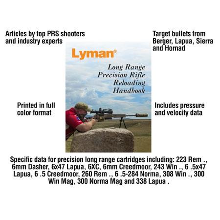 Lyman Long Range Precision Rifle Reloading Handbook  • Elk's Hunting &  Fishing