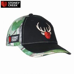 Stoney Creek Kid's Spiker Cap – Blue, Pink & Camo.