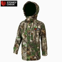 Stoney Creek Kid's Duckling Jacket – Bayleaf & Camo.