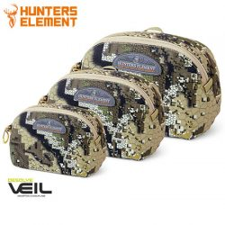 Hunters Element Edge Pouches – Desolve Veil Camo.