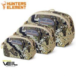 Hunters Element Edge Pouches – Desolve Veil Camo.