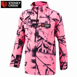 Stoney Creek Kids Long Sleeve Microplus Top – Blaze Blue & Watermelon.