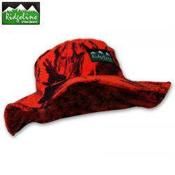Ridgeline Sable Bush Hat – Blaze Camo.