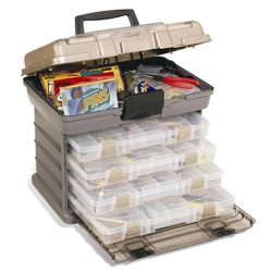 Plano 4 By Rack System Tackle Box.