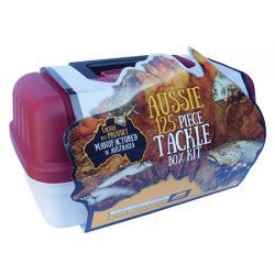 Plano Aussie 125 Piece Tackle Box Kit.