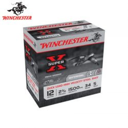 Winchester Super X Steel 12G 2,3,4 & 5 2-3/4″ 34gm.