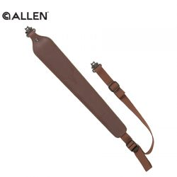 Allen Cobra Padded Tanned Leather Rifle Sling.