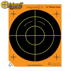 Caldwell Orange Peel Bullseye 5.5″ 10 Pack.