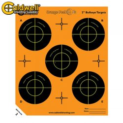 Caldwell Orange Peel Bullseye 2″ 10 Pack.