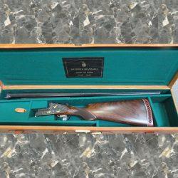AYA 37 Under / Over 12GA Side Lock Field Shotgun.