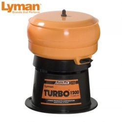 Lyman 1200 Auto Flow Turbo Tumbler.