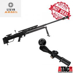 Steyr HS50-M1 50BMG With Nightforce ATACR 7-35×56 F1 Rifle Scope Package Deal.