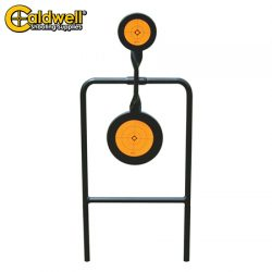 Caldwell Double Spin 44Mag Pistol Target.
