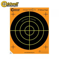 Caldwell Orange Peel Bullseye 8″ 10 Pack.