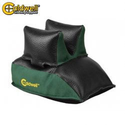 Caldwell Rear Bag Black Leather  – Filled.