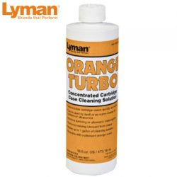 Lyman Orange Turbo Concentrate Cleaning Solution.