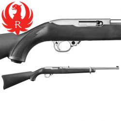 Ruger 22LR 10/22 Synthetic Stainless Rifle.