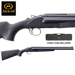 AKKAR 3 12G 20″ 3 Shot Black Synthetic.