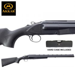 AKKAR 3 12G 28″ 3 Shot Black Synthetic Extractor.