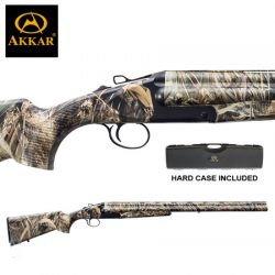 AKKAR 3 12G 28″ 3 Shot Camo Synthetic Extractor.