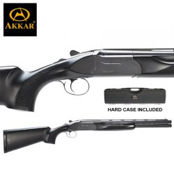 AKKAR Churchill 12G 20″ Sporter Ejector Black Synthetic.