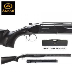 AKKAR Churchill 12G 20″ & 30″ Combo Ejector Black Synthetic.