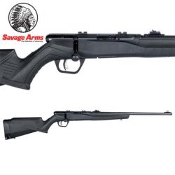 Savage B22 22LR F Blued Synthetic, With Sights – 10 Shot.