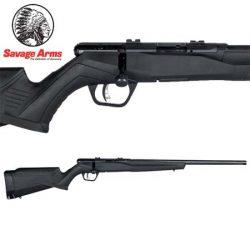 Savage B22 22LR FV Blued Synthetic Varmint – 10 Shot.