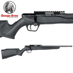 Savage B22 22LR FVSR Blued Synthetic Varmint Threaded 16.5″ – 10 Shot.
