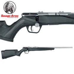 Savage B17 17 HMR FV Blued Synthetic – 10 Shot.
